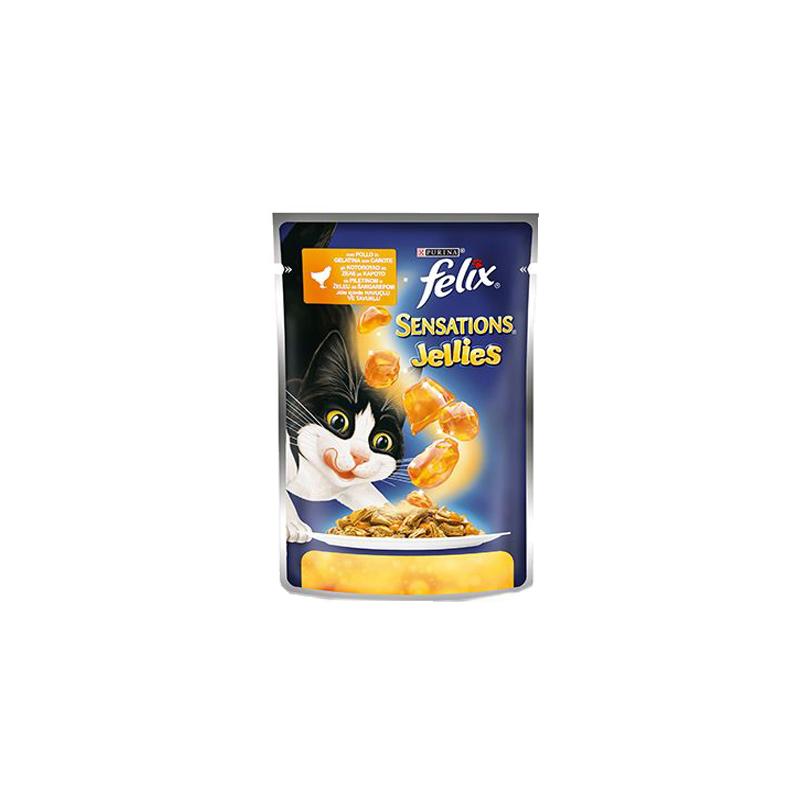 Felix sensations sos piletina šargarepa 100g