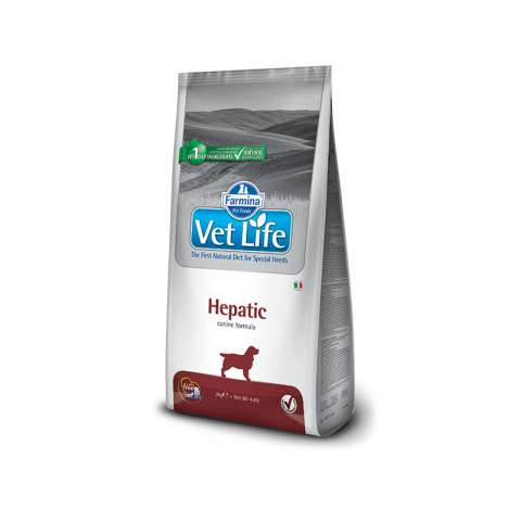 Vet life hepatic dog 2kg